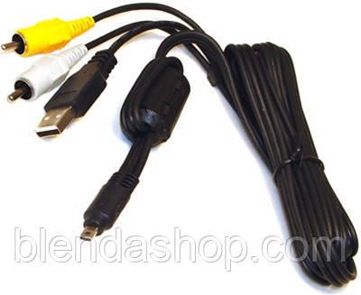 Кабель (шнур) Pentax I-USB7 (аналог I-USB17, I-USB33, UC-E6) - аудио-видео USB - кабель для камер PENTAX