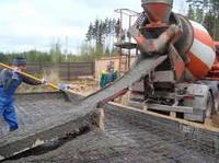Заливка фундамента. Строительство железобетонных заборов. Строительство заборов, ворот и ограждений