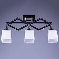 Люстра спот (направляемая) на 3 лампочки P3-37325/3/BK+MK