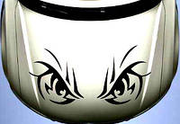 Виниловая наклейка на авто - на капот(глаза)