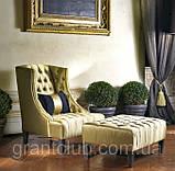 Итальянское кресло с высокой спинкой и декором капитоне VITTORIA фабрика Softhouse, фото 5