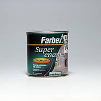 Фарбекс эмаль алкидная вишневая Farbex Super enamel ПФ-115П (0,3кг)