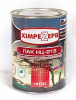 Лак НЦ–218 (глянцевый) 0,8кг – Лак нитроцеллюлозный мебельный