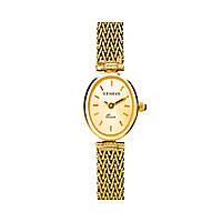 Женские золотые часы со швейцарским механизмом