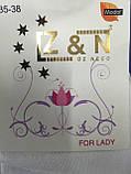 Носки женские модал короткие мягкая резинка белые Z&N пр-во Турция , фото 4