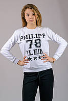 """Свитшот женский  """"Philipp Plein"""" (белый)"""