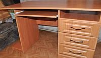 Стол компьютерный Тумба, с четырьмя выдвижными ящиками и полочкой под клавиатуру размер h=760 мм, 12