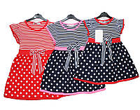 Платье детское трикотажное на лето PPL 120