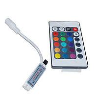 Контроллер с ИК пультом для RGB ленты (72 Вт)