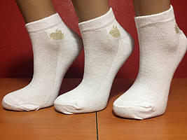Носки женские летние сетка «Apple» белые
