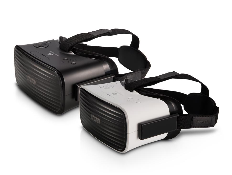 Очки виртуальной реальности Remax VR All-in-One Phantom 3D Glass RT-V02