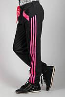 Детские спортивные штаны Лампас (черные)