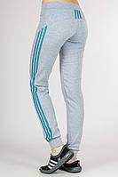 Женские спортивные штаны Fitness (светло-серые)