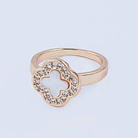 Кольцо на фалангу пальца в стиле Van Cleef & Arpel