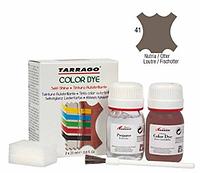 Краситель для гладкой кожи и текстиля + очиститель Tarrago Color Dye, 2*25 мл,  цв. выдра (41)