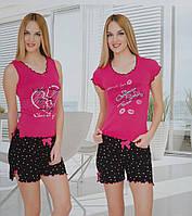 Женский комплект с шортами WILD LOVE