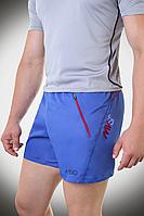 Брендовые летние шорты, синие шорты мужские