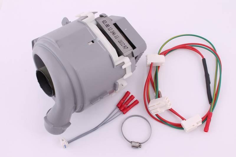 654575 Циркуляционный насос (мотор) для посудомоечной машины Bosch, Siemens
