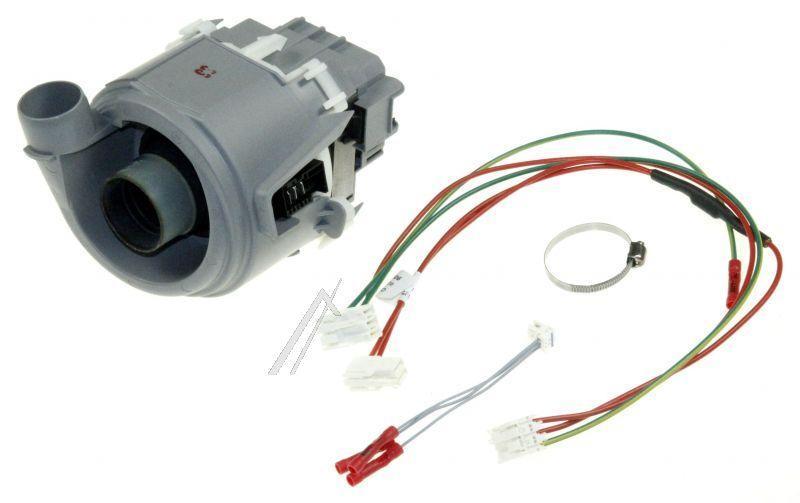 00654575 Циркуляционный насос (мотор) для посудомоечной машины Bosch, Siemens (для узких моделей)