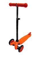 Трехколесный самокат iTrike Scooter 3-013-4-D Orange