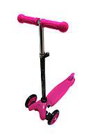 Трехколесный самокат iTrike Scooter 3-013-4-D Pink
