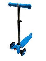 Трехколесный самокат iTrike Scooter 3-013-4-D Blue
