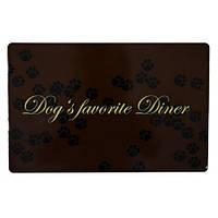 Коврик под миску для еды собак Dogs Favorite Diner Трикси 24548