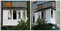 Солнцезащитные, энергосберегающие окна на балкон: варианты установки.
