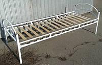 Кровать металлическая односпальная ламель МХМ Стандарт