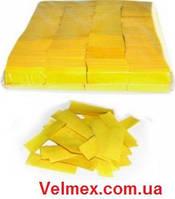 Бумажная нарезка конфетти BiG 4108 - ЖЕЛТЫЙ СНЕГ