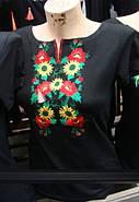 Молодёжная вышиванка малые подсолнухи до 50 размера, фото 3