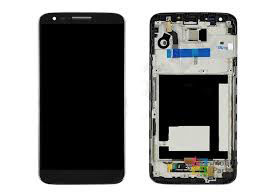 Дисплей с тачскрином LG D800 G2, D801, D803 черный в рамке (HQ)