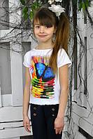 Летняя блуза для девочки.