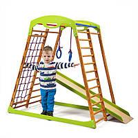 Детский спортивный комплекс для дома ТМ SportBaby: BabyWood (Украина)