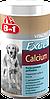 Минеральная добавка 8 in 1 Excel Calcium для собак, с кальцием и витамином D, 880 шт