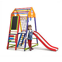 Детский спортивный комплекс ТМ SportBaby: BambinoWood Color Plus 3 (Украина)