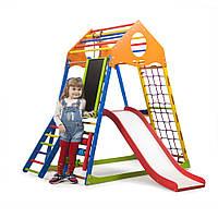 Детский спортивный комплекс ТМ SportBaby: KindWood Color Plus 3 (Украина)