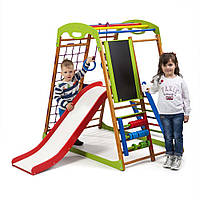 Детский спортивный комплекс для дома ТМ SportBaby: BabyWood Plus 3 (Украина)