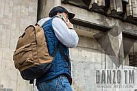 Рюкзак мужской коричневый Nike Canvas