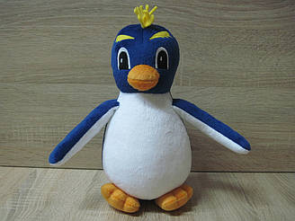 Мягкая игрушка пингвин Мак из Приключения Лоло ручная работа