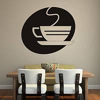 Виниловая интерьерная наклейка - Cofe