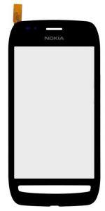 Тачскрин сенсор Nokia 710 Lumia черный