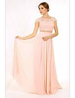 Платье Авелин  персиковое Enigma