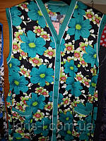 Женские халаты без рукавов на пуговицах, фото 1