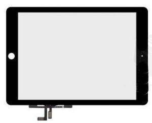 Тачскрин сенсор Apple iPad 5 Air черный, без кнопки Home