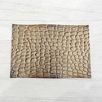 Обложка на паспорт из натуральной кожи бежевый, фото 1