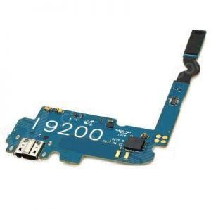 Шлейф для Samsung i9200 Galaxy Mega 6.3, i9205, с разъемом зарядки, с микрофоном