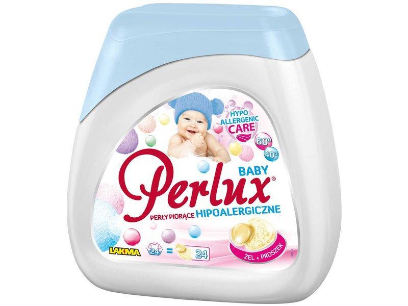 Капсулы для стирки гипоаллергенные Perlux Baby, 24 шт.