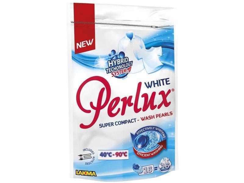 Капсулы для стирки Perlux White, 16 шт.