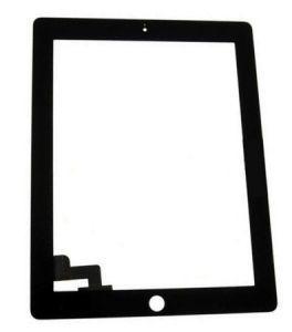 Тачскрин сенсор Apple iPad 2 черный, без кнопки Home